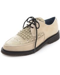 Marc By Marc Jacobs Oxford Creepers - Lyst