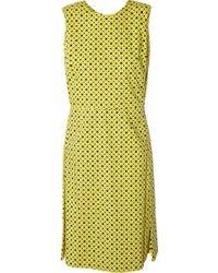 Marni Polka-Dot Print Cotton Dress - Lyst