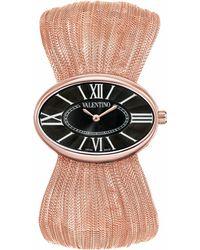 Valentino Seduction Rose Gold Watch - Pink