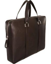 Delvaux - Newspaper Briefcase - Lyst