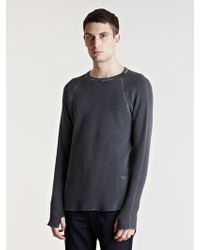 Unused | Mens Long Sleeve T-shirt | Lyst