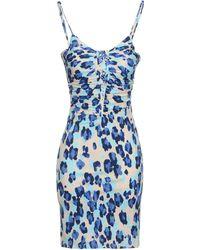 Blugirl Blumarine Short Dresses - Blue