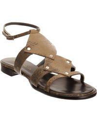 Proenza Schouler Diamond Gladiator Sandal - Lyst