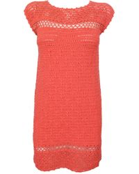 Thomas Sires Balaclava Crochet Dress - Lyst