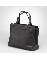 Bottega Veneta Nero Washed Cervo Bag - Black
