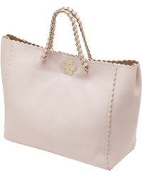 Mulberry - Oversized Cecily Tote with Flower - Lyst