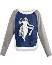 N°21 Vestale Print Sweater - Lyst