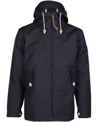Penfield Navy Gibson Waxed Jacket - Lyst