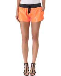 Sass & Bide - Audience Sequin Shorts - Lyst