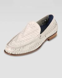 Cole Haan Air Tremont Woven Leather Loafer - Lyst