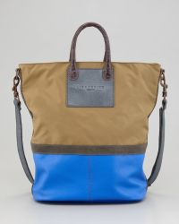 Liebeskind - Nylon Leather Tote Bag - Lyst
