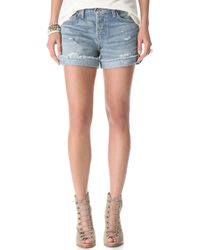 Bliss and Mischief - Chelle Roll Shorts - Lyst
