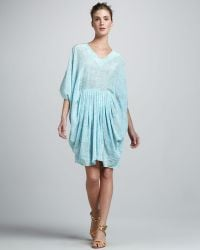 Rachel Zoe Gilles Pleated Caftan Dress - Lyst