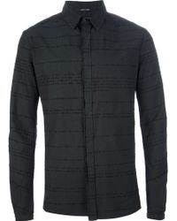 Lumen Et Umbra - Embroidered Distressed Shirt - Lyst