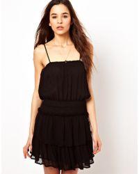 Paul & Joe Paul and Joe Sister Sundress with Flippy Skirt - Black