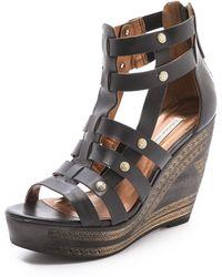 Twelfth Street Cynthia Vincent - Lulu Wedge Sandals - Lyst