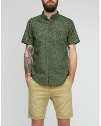 Vanishing Elephant Bird Green Floral Shirt - Lyst