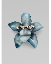 Alexis Bittar Small Orchid Pin - Lyst