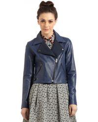 Sachin & Babi Delmar Leather Jacket - Lyst