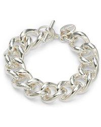 1AR By Unoaerre | Twisted Grommet Link Bracelet | Lyst