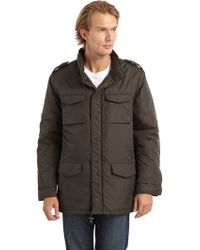 Blue Saks Fifth Avenue - Winter Safari Jacket - Lyst