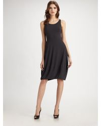 Eileen Fisher Racerback Jersey Dress - Lyst