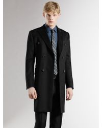 Gucci Doublebreasted Wool Coat - Lyst