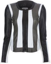 Helmut Lang Striped Jacket - Black