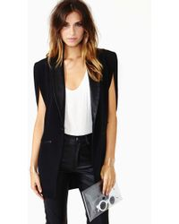 Nasty Gal Captains Cape - Lyst
