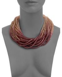 Pono - Caviar Necklace - Lyst
