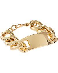 Asos Id Link Bracelet - Lyst