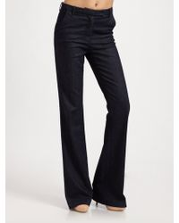 Current/Elliott The Highrise Neat Trouser Jeans - Lyst