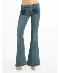 Genetic Denim The Adriane Bell Bottom Jeans - Blue