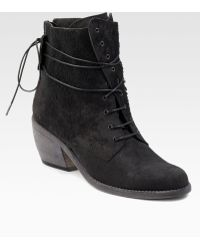 Ld Tuttle Laceup Shearling Ankle Boots - Lyst