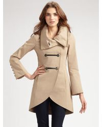 Mackage Double Breasted Military Jacket - Lyst