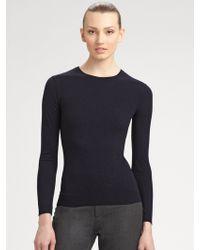 Ralph Lauren Black Label | Cashmere Longsleeve Sweater | Lyst