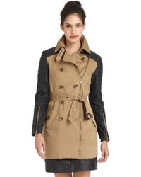 W118 by Walter Baker Keanu Belted Trenchcoat - Lyst