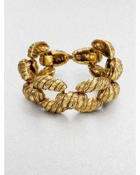 Aerin Erickson Beamon Ropetextured Bracelet - Metallic