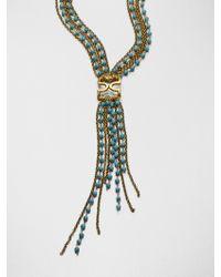 Aerin Erickson Beamon - Turquoise Tassel Necklace - Lyst