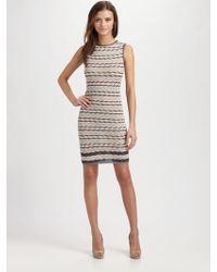M Missoni Wavestriped Dress - Lyst