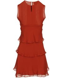 Roberta Furlanetto Short Dresses - Red