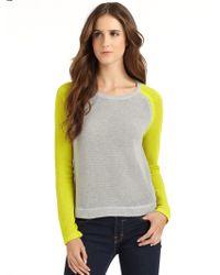 Vkoo - Cotton Baseball Tee Sweater - Lyst