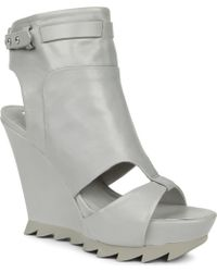 Camilla Skovgaard Monopoly Leather Wedge Ankle Boots - Lyst