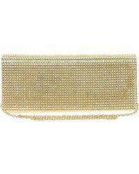 ALDO Glitter Clutch Bag - Metallic
