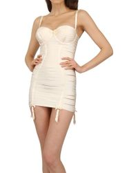 Bordelle Spandex String Body Dress - Lyst