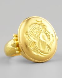 Elizabeth Locke - 19k Gold Artemis Ring - Lyst