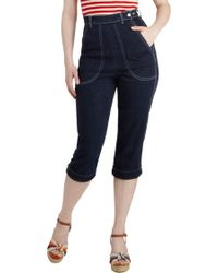 ModCloth - The Joys Are Back Pants - Lyst