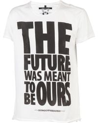 Sons Of Heroes Our Future Tee white - Lyst