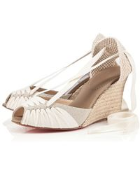 Christian Louboutin Cortico Wedges - Lyst