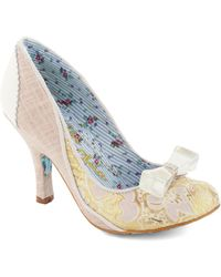 ModCloth Brocade For Each Other Heel - Lyst